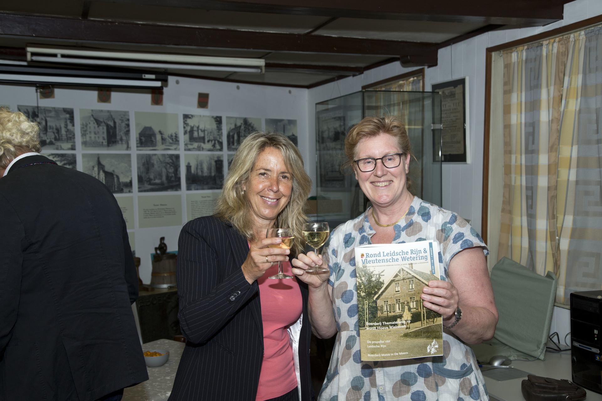 Gerda Oskam en Ina Massop