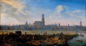 Herman Saftleven – Gezicht op Utrecht (ca 1664).