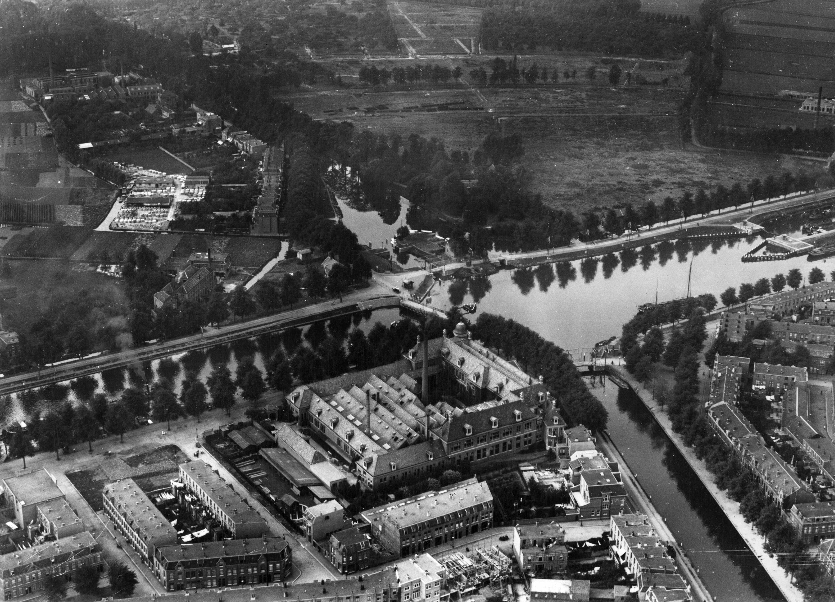 Luchtfoto van Oog in Al (1921)