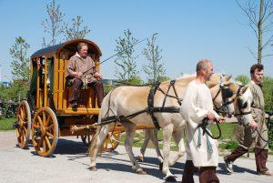 Romeinse paard en wagen