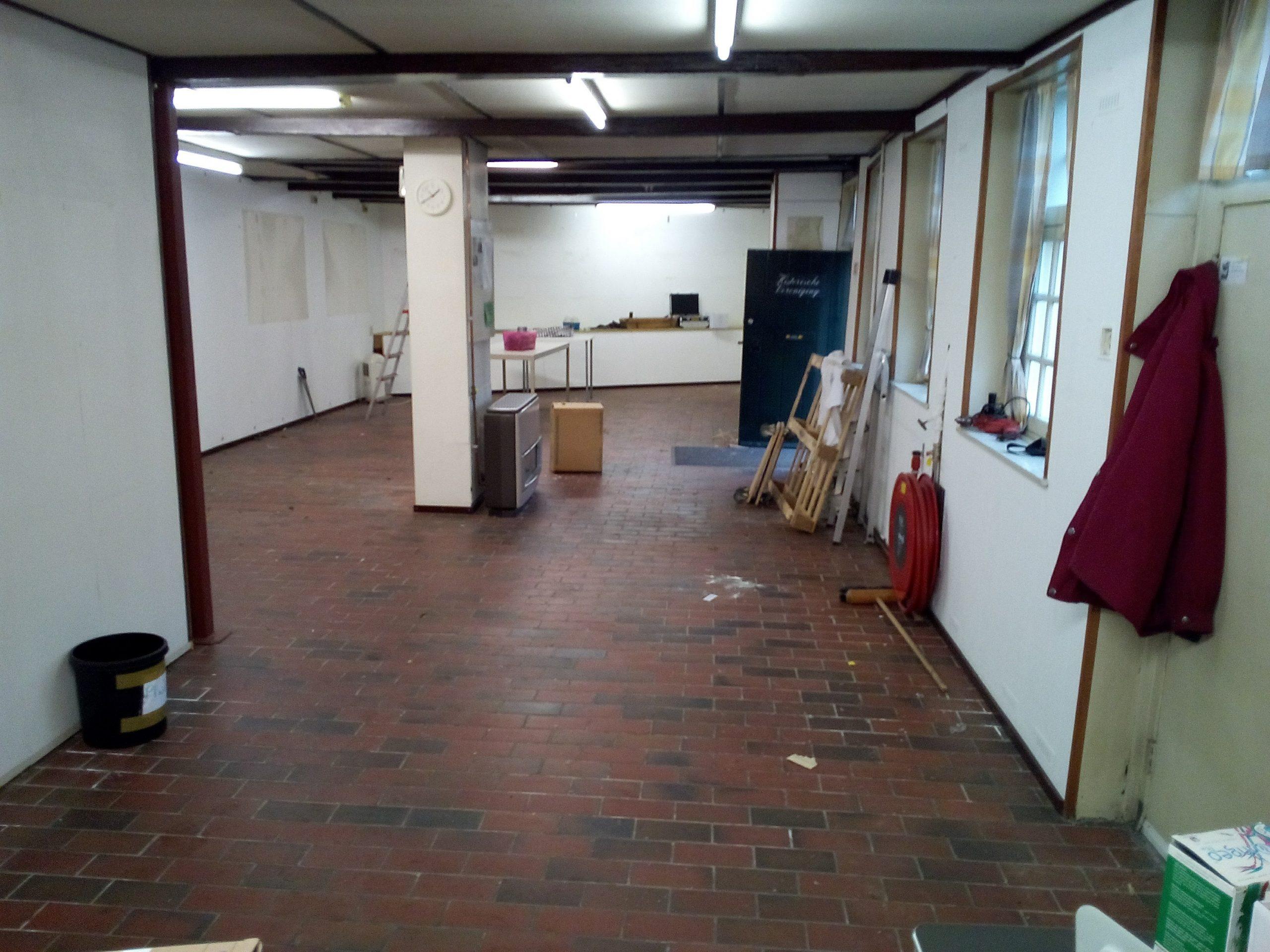 Een compleet leeg Documentatiecentrum