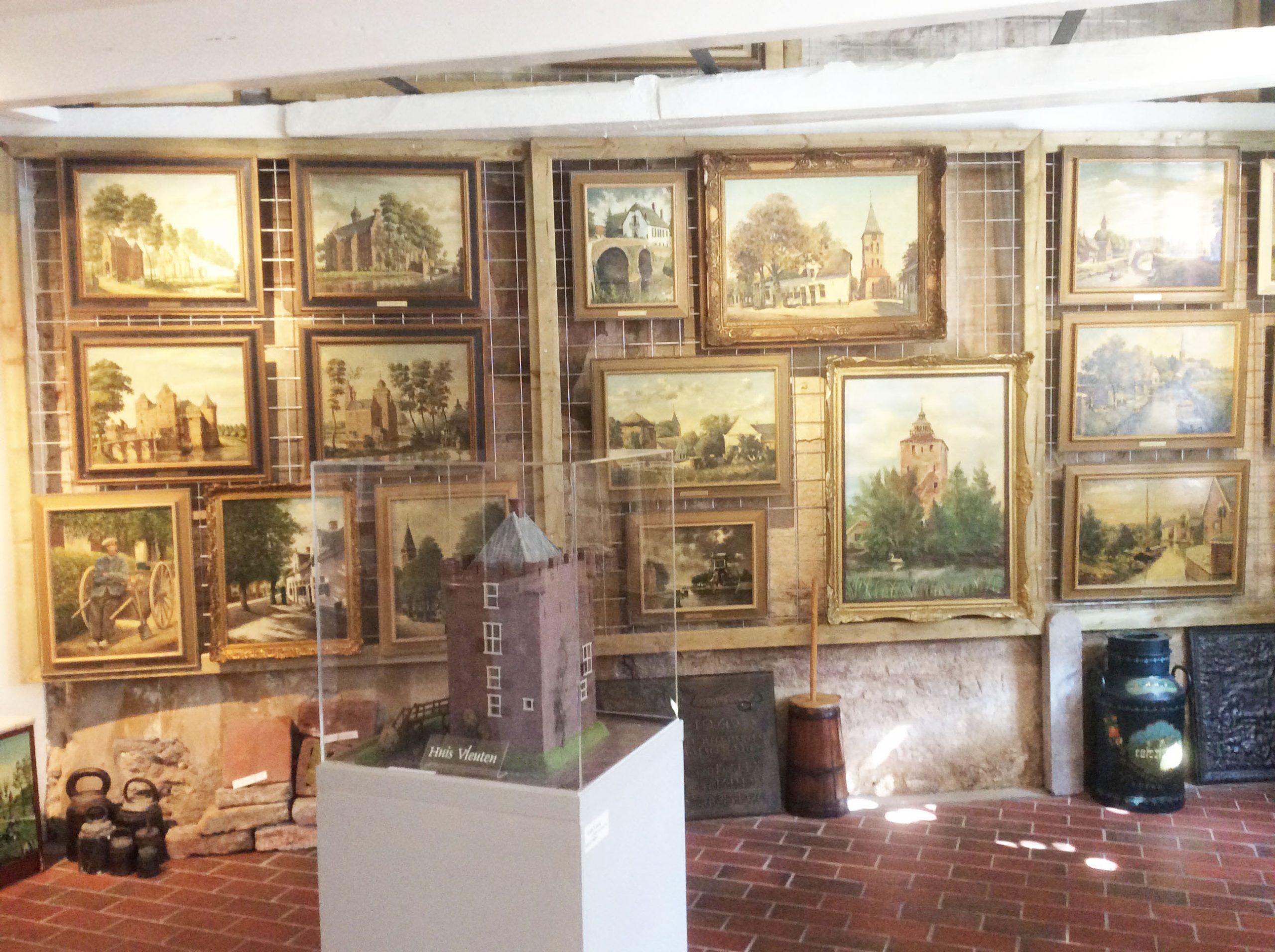 De nieuwe tentoonstellingsruimte