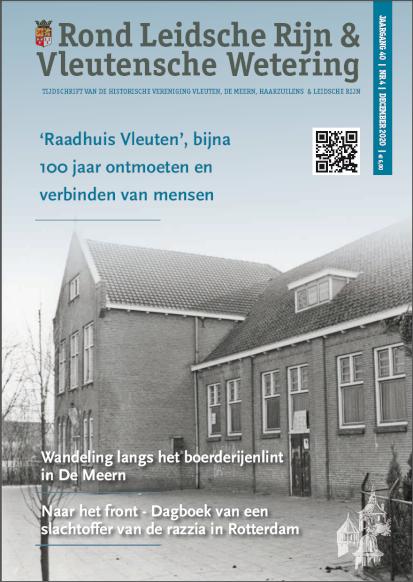 Decembernummer (2020) van 'Rond Leidsche Rijn en Vleutensche Wetering'