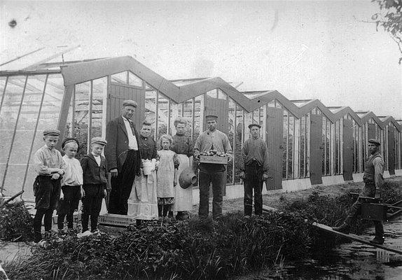 Presentatie over de historie van de glastuinbouw en de arbeidsomstandigheden, 7 oktober 2021
