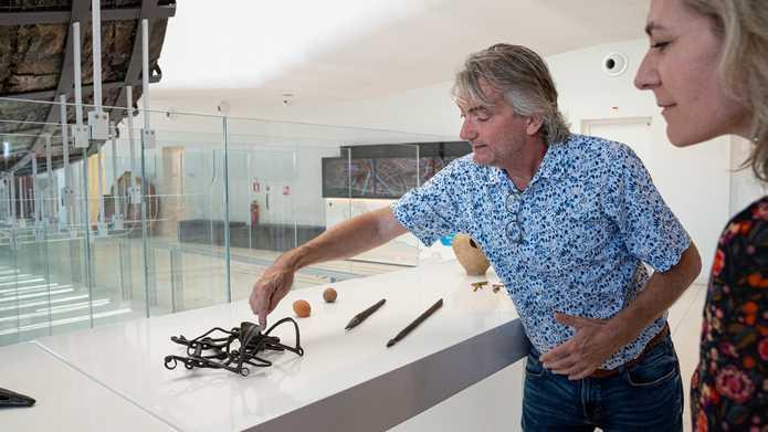 Lezing Archeologische vondsten Kuinderboslaan, door Erik Graafstal, dinsdag 30 november
